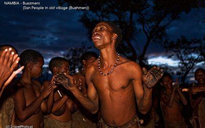 NAMIBIA - Buszmeni