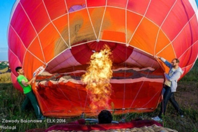 Nowa Galeria: Mazurskie Zawody Balonowe