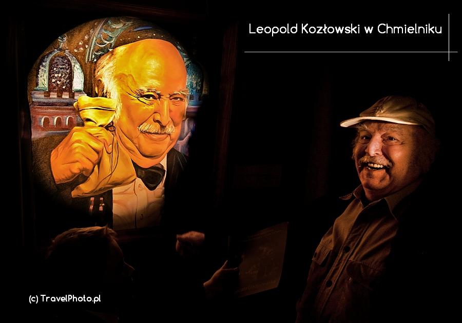 CHMIELNIK – Leopold Kozłowski – ostatni klezmer Galicji przy swoim portrecie