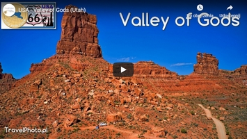 USA, Valley of Gods z drona