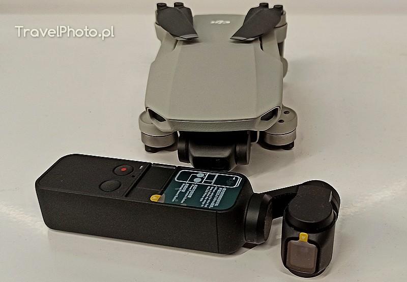 Dwa wspaniałe narzędzia do dokumentacji wyjazdów DJI Mavic Mini i kamera DJI Osmo Pocket